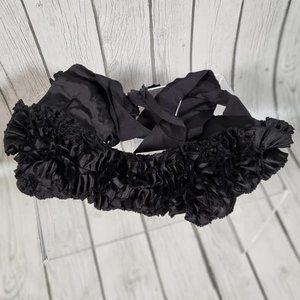 Kate Spade Silk Ruffle Belt
